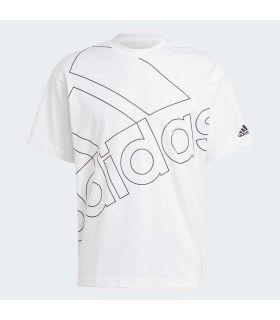 Adidas Giant Logo Tee White Tee - T-Shirts Lifestyle