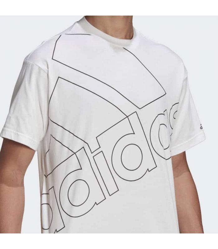 Adidas Giant Logo Tee White Tee - Lifestyle T-shirts
