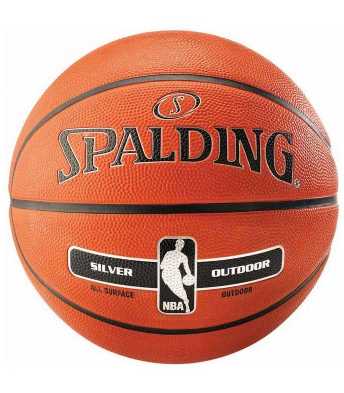 Spalding Basketball NBA Silver Outdoor - Balls basketball