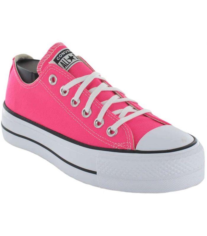 Convert Chuck Taylor All Star Lift Fucsia - Casual Shoe Woman