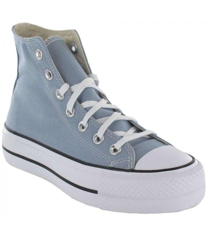 Converse Chuck Taylor All Star Lift Bota Azul - Casual Shoe