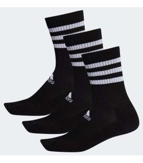 Calcetines Running - Adidas Calcetines Clasicos Cushioned 3 Bandas negro Zapatillas Running