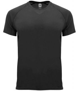 Roly Black Bahrain T-shirt - T-shirts technical running