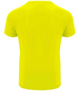 Roly T-shirt Bahrain Yellow Fluor - T-shirts technical running