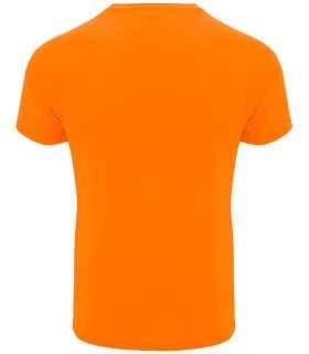 Roly Camiseta Bahrain Naranja Fluor - Camisetas técnicas running