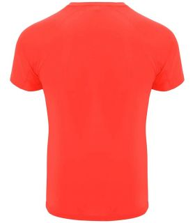 Roly T-shirt Bahrain Coral Fluor - T-shirts technical running