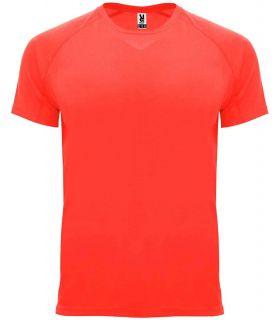 Roland Camiseta Bahrain Coral Fluor - T-shirts de course