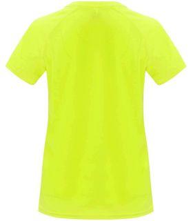 Roly Camiseta Bahrain W Jaune Fluor