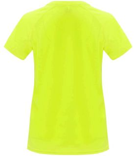Roly T-shirt Bahrain W Yellow Fluor - T-shirts technical running