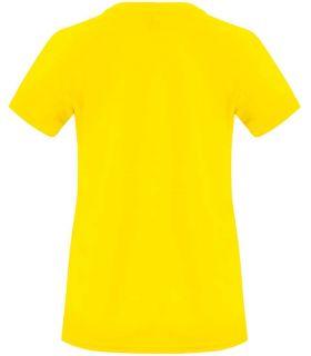 Roly Camiseta Bahrain W Jaune - T-shirts de course technique