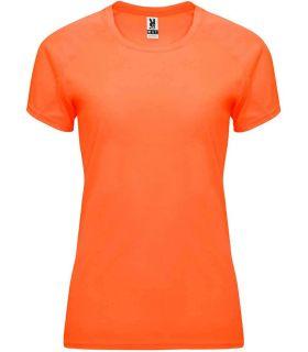 Roland Camiseta Bahrain W Orange Fluor - T-shirts de course
