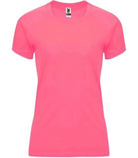 Roly Camiseta Bahrain W Rosa Lady Fluor