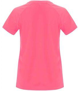 Roly Camiseta Bahrain W Rosa Lady Fluor - T-shirts de course