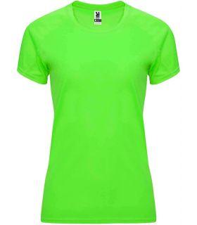 Roly T-shirt Bahrain W Green Fluor - Technical jerseys running