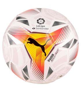 Balones Fútbol - Puma LaLiga 1 Accelerate Mini 21/22 blanco Fútbol
