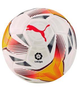 Balones Fútbol - Puma LaLiga 1 Accelerate 4 21/22 blanco Fútbol