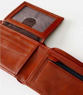 Rip Curl Portfolio Search Logo RFID PU All Day Brown -