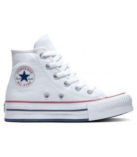 Converr Chuck Taylor All Star Eva Lift Blanco - Chaussures de