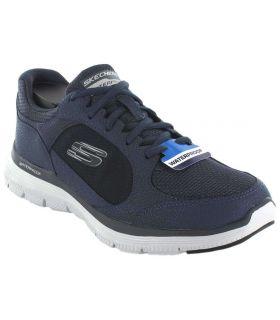 Calzado Casual Hombre - Skechers Flex Advantage 4.0 Waterproof azul marino Lifestyle