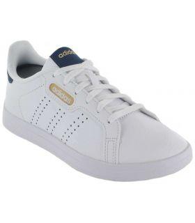 Calzado Casual Mujer - Adidas Courtpoint Base blanco Lifestyle
