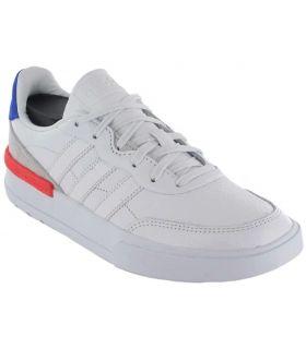 Calzado Casual Hombre - Adidas Clubcourt blanco Lifestyle