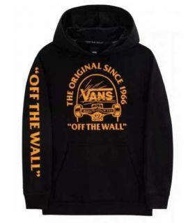 Vans Sweatshirt Grind Po Boys Black - Lifestyle sweatshirts