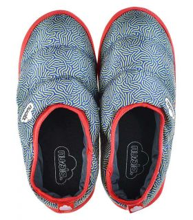 Nuvola Classic Printed Noodle Red - Pantuflas