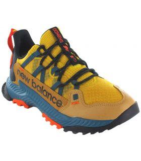 Zapatillas Trail Running Hombre - New Balance Shando amarillo Zapatillas Trail Running