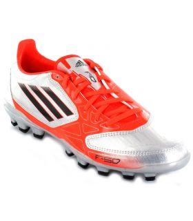 Botas de Futbol Adidas F10 TRX AG Gris Adidas Botas de Fútbol Botas de Futbol Tallas: 39 1/3, 40 2/3, 41 1/3, 42, 42
