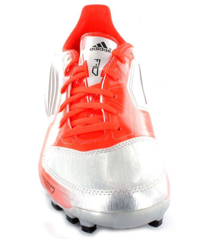 Botas de Futbol Adidas F10 TRX AG Gris - Botte de football