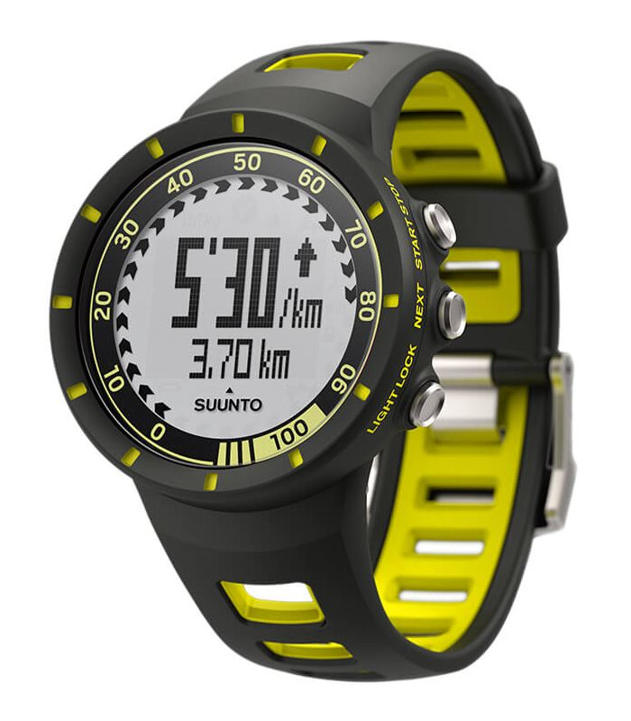 Suunto Quest Speed Pack Yellow + Dual Belt regalo Suunto Pulsometros Electronica Running
