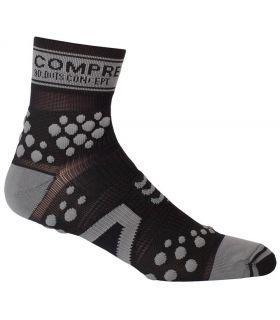Compressport Pro Racing Socks V2 Trail High Negro Gris
