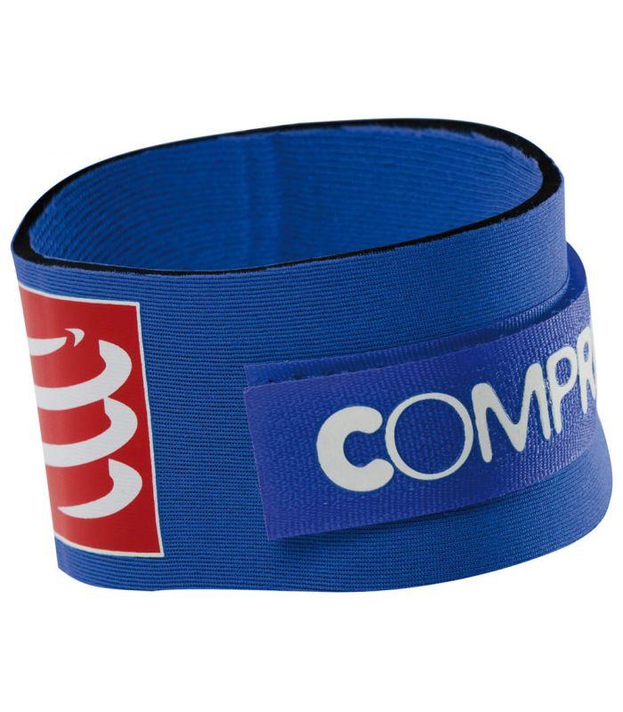 Compressport Porta Puce Bleu