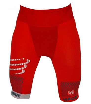 Compressport Pro Racing Trail Running Short Rouge