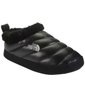 The north Face Nuptse Tent Mules Fur II Black W