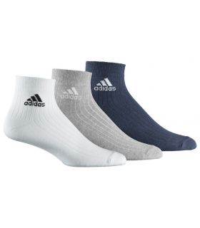 Adidas Ankle Rib T 3 Multi - Calcetines Running - Adidas 35 / 38, 43 / 46, 39 / 42