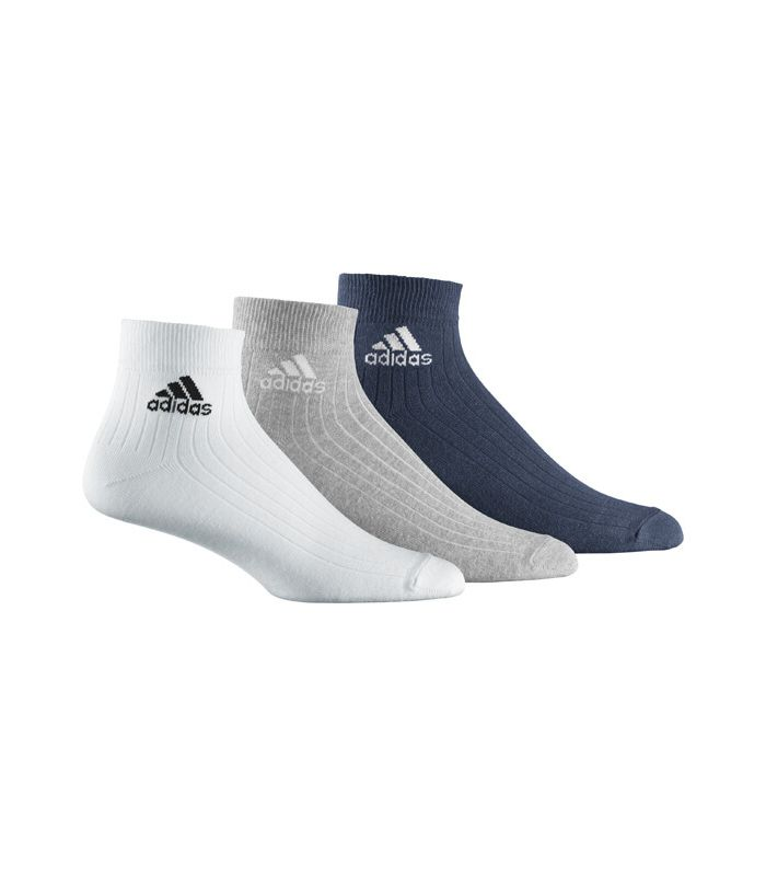 Adidas Ankle Rib T 3 Multi Calcetines Running Zapatillas
