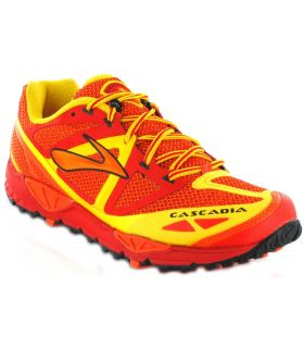 Brooks Cascadia 9 Rouge