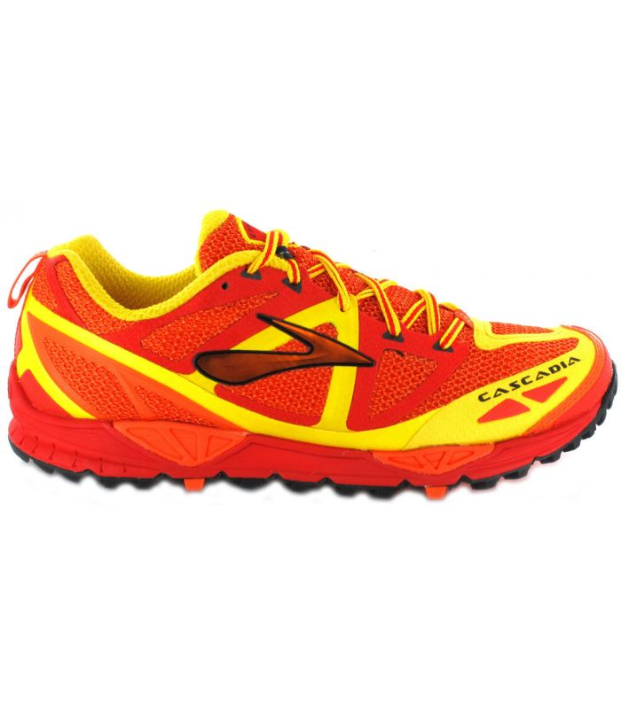 Brooks Cascadia 9 Rojo Brooks Zapatillas Trail Running Hombre Zapatillas Trail Running