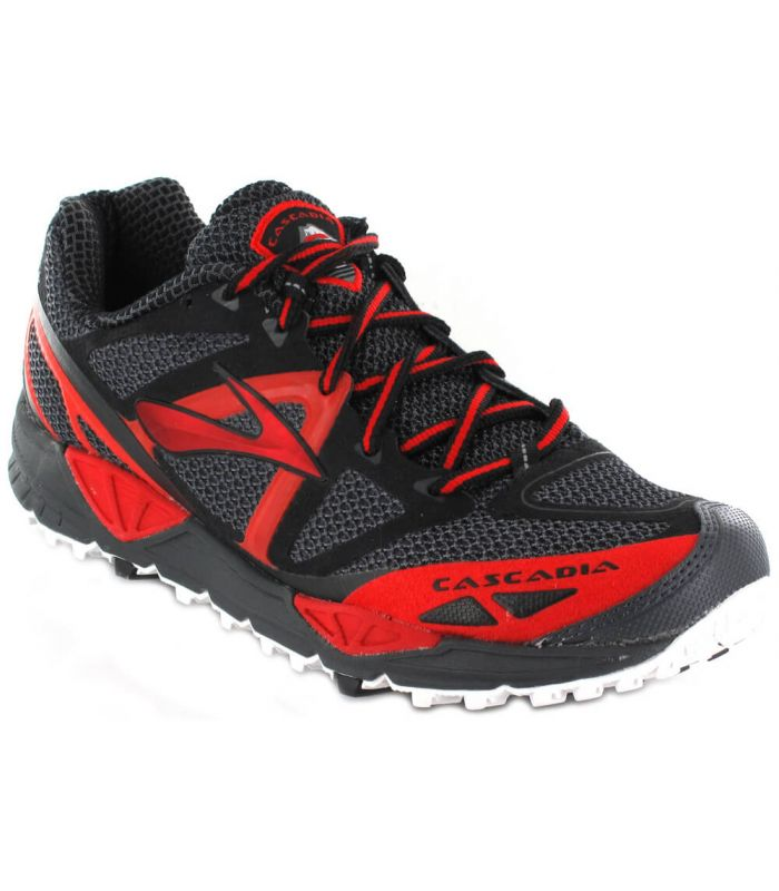 Brooks Cascadia 9 Gris - Zapatillas Trail Running Hombre - Brooks
