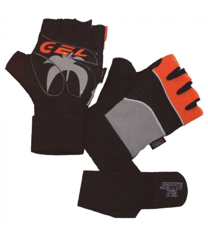 Guante Fitness Pro Gel Van Allen Guantes Halterofilia Fitness Tallas: s, xl