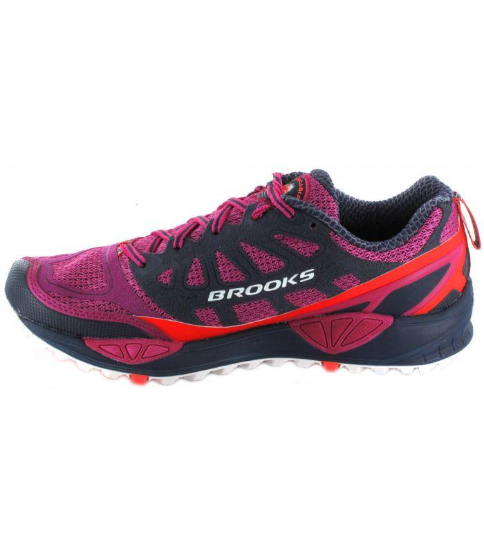 Brooks Cascadia 9 W Morado Brooks Zapatillas Trail Running Mujer Zapatillas Trail Running