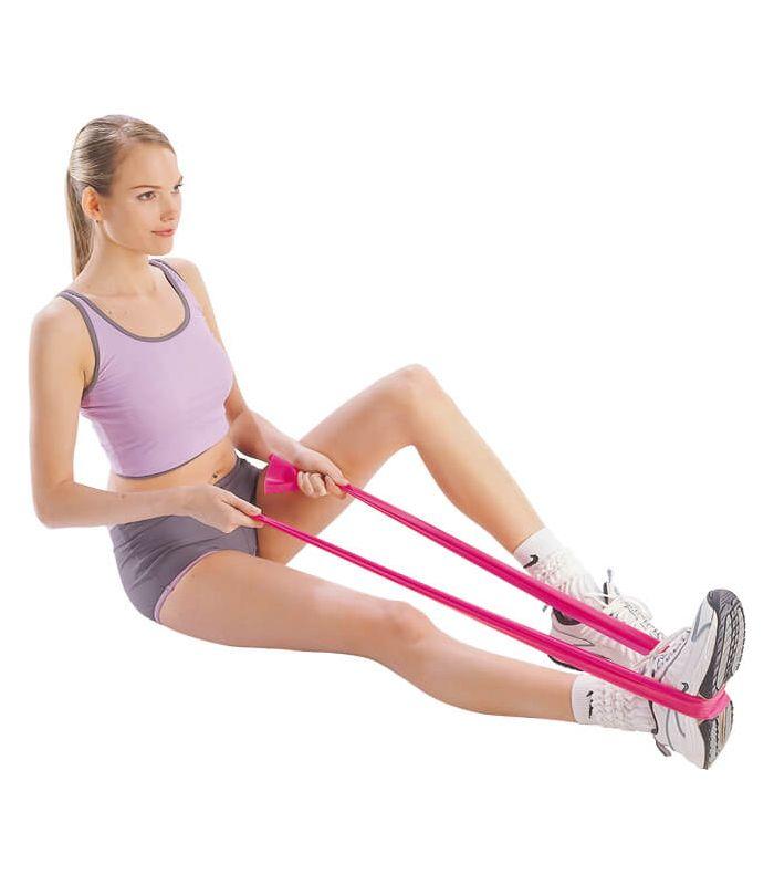 Band latex aerobic 120 x 15 x 0.65 - Accessories Fitness