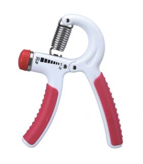 Exerciser hand adjustable soft