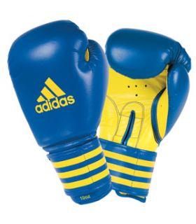 Adidas gants de Boxe d'Entraînement Bleu
