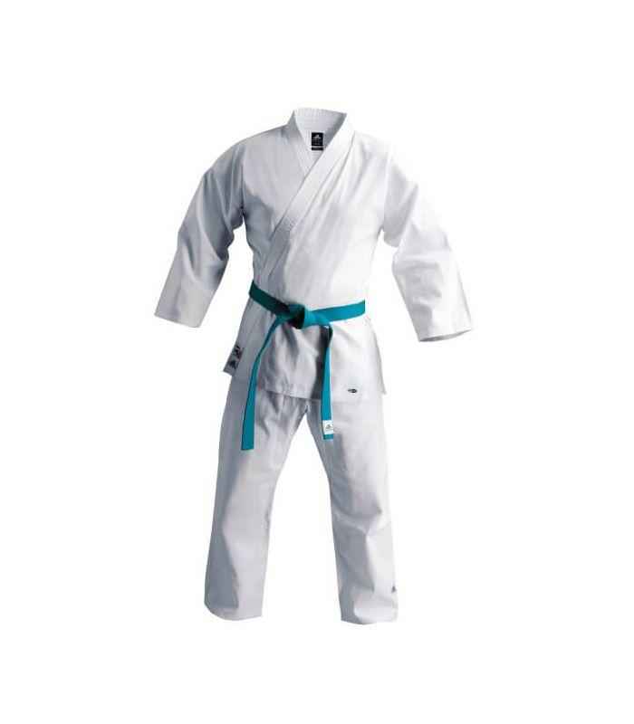Kimono karate kumite Training