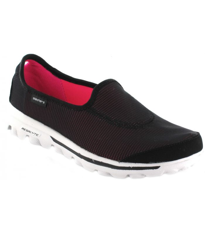 Skechers Go Recovery Negro Calzado Casual Mujer Lifestyle