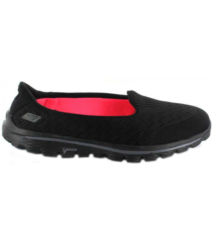 Calzado Casual Mujer - Skechers Go Walk 2 Axis Negro Lifestyle
