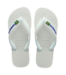 Havaianas Brasil Blanco Havaianas Sandalias / Chancletas Hombre Calzado Montaña Tallas: 45 / 46