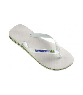 Havaianas Brazil White